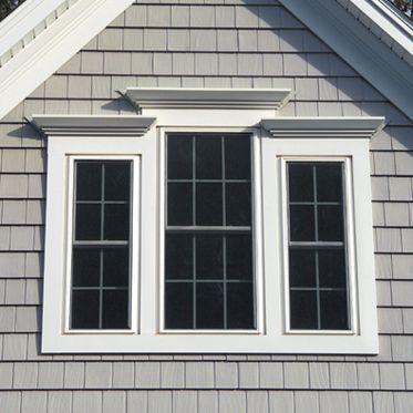 32 best images about exterior moldings on pinterest red - Vinyl trim around exterior windows ...