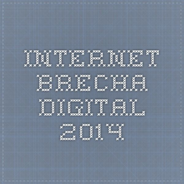 Internet. Brecha digital 2014