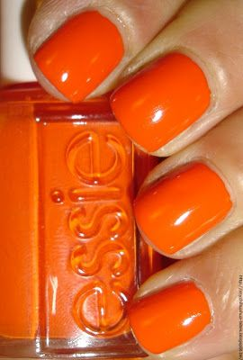 Essie - Orange Its Obvious | orange-all the rage for Spring 2014