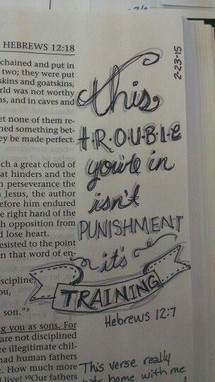Hebrews 12:7