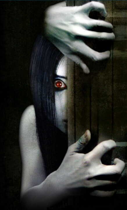 Kayako (The Grudge) Me: Hey gurrrrllll it's been a while! Let's catch up over a cup of blood tea.