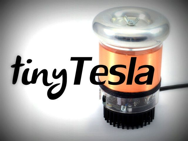 tinyTesla: the Little Singing Tesla Coil Anyone Can Build by oneTesla — Kickstarter
