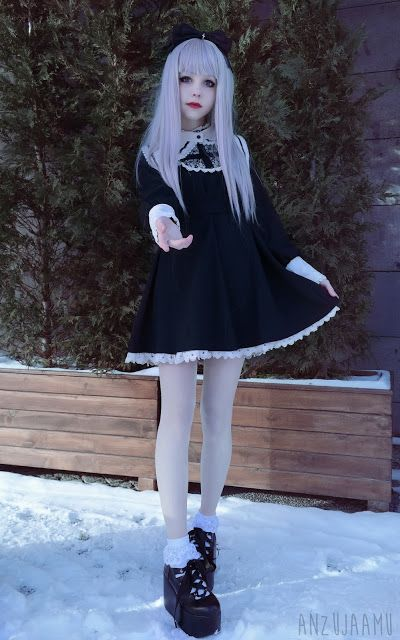 I want to dress like this...
