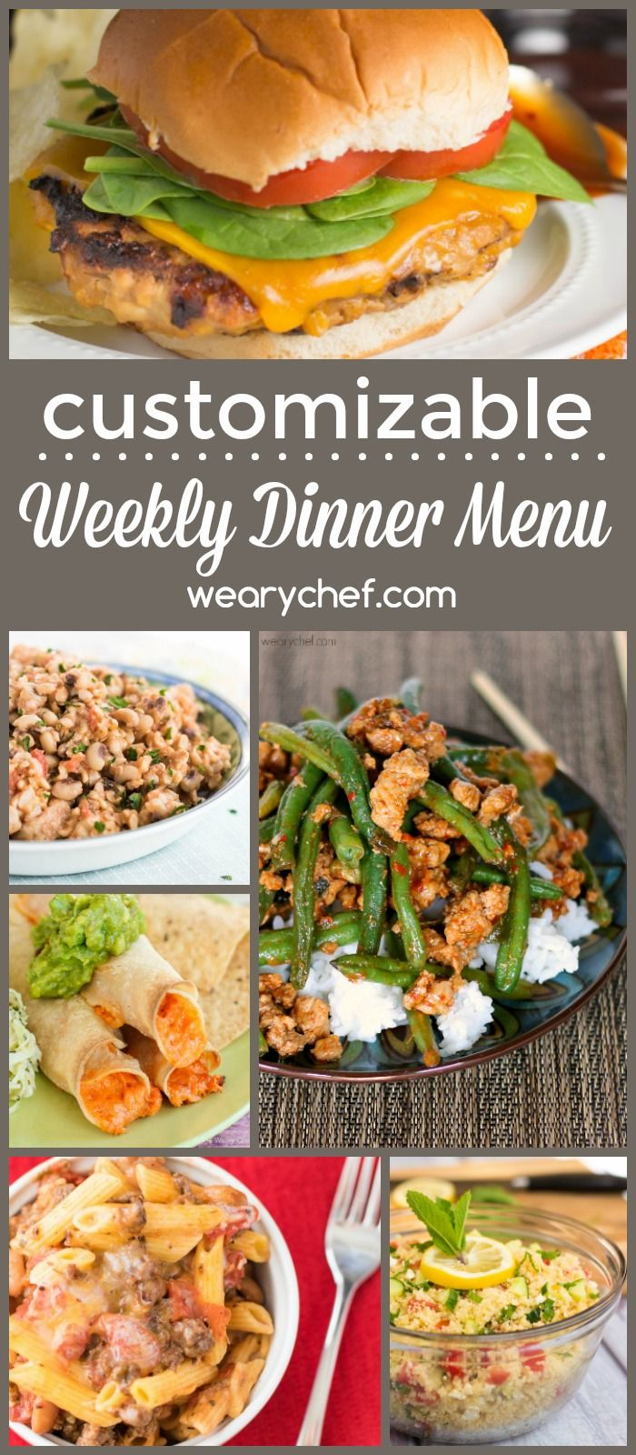 Best The Weary Chef Menu Plans Images On   Weekly