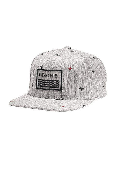 Waves 110 Snap Back Hat - Flash Dot | Nixon Men's Hats
