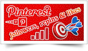 Pinterest is now the 3rd most popular social network in the world. Over 80% pins are repinned by other Pinterest users. Visitors referred by Pinterest are 10% more likely to make a purchase on your website. Do not miss the opportunity to brand your business, website, or yourself on Pinterest. We are expert in Pinterest Promotion so buy 100% real Pinterest followers, repins and likes from us for increasing your sales and business growth…