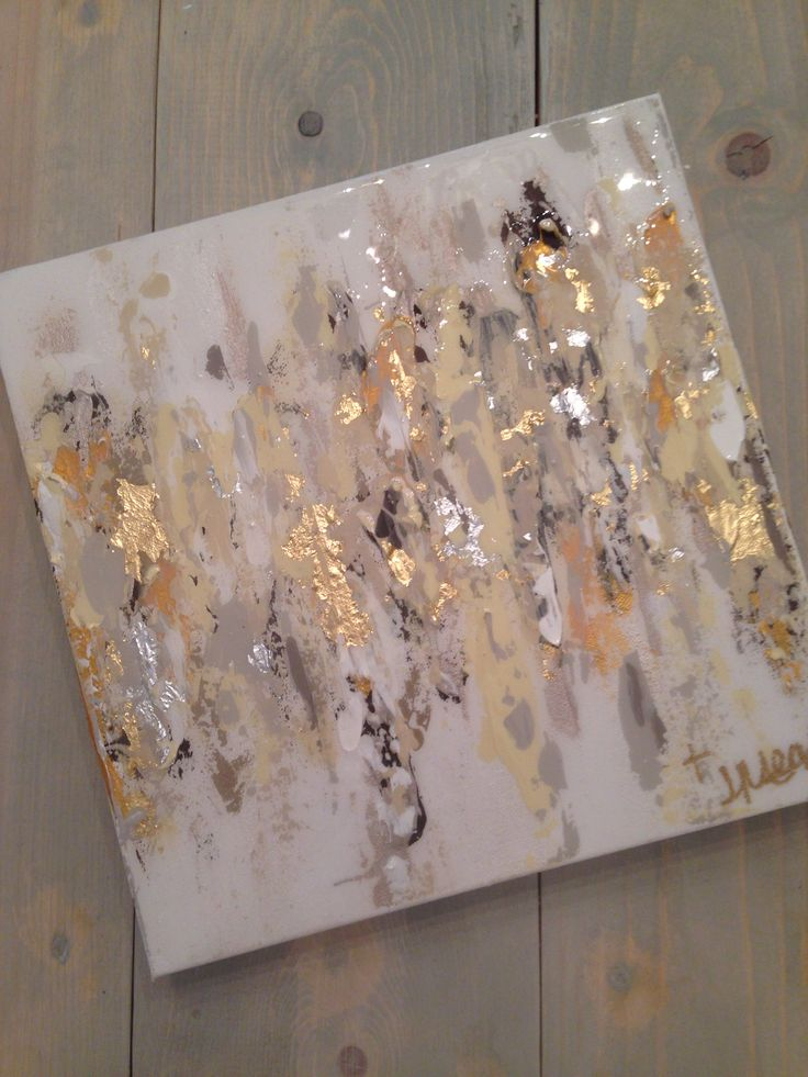 """Abstract art on canvas by Jenn Meador $100. 12""""x12"""" email to purchase jennmeadorpaint@gmail.com"""