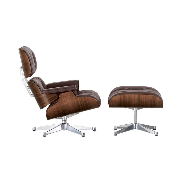 Classic Eames Lounge Chair   Ottoman Chocolate Leather   Walnut Frame25 best Lounge Chairs images on Pinterest   Recliners  Lounge  . Eames Lounge Chair And Ottoman Walnut Frame Standard Leather. Home Design Ideas