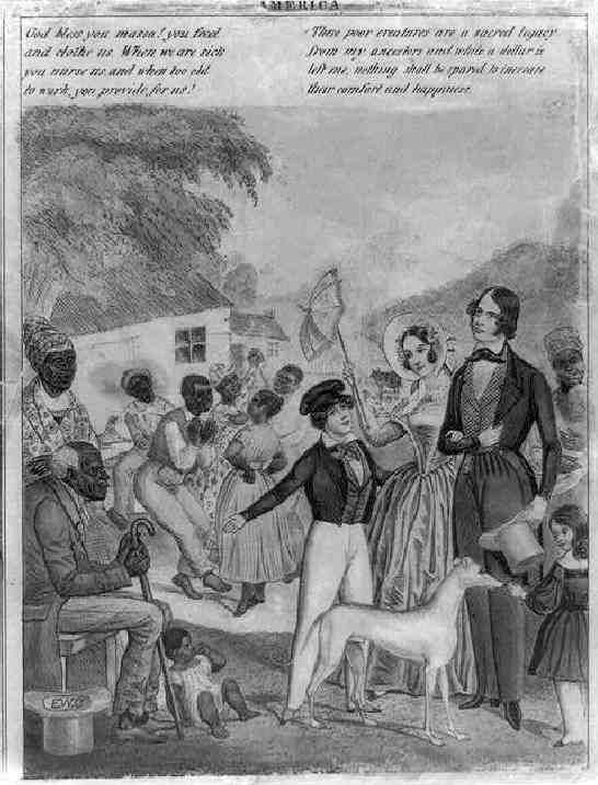 a history of the institution of slavery in america and its issues At the time of the american revolution, slavery was a national institution although the number of slaves was small, they lived and worked in every colony even.