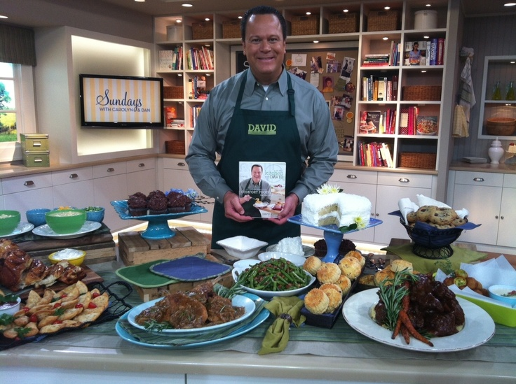 David's New Cookbook! ITKWD: Comfort Foods That Take You Home @QVC Official