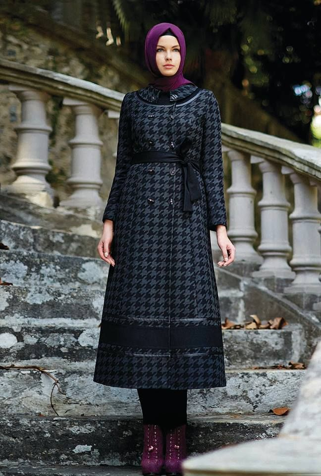 13'14 Sonbahar & Kış #Pardesu #Coat #hijab #fallwinter #winter #collection