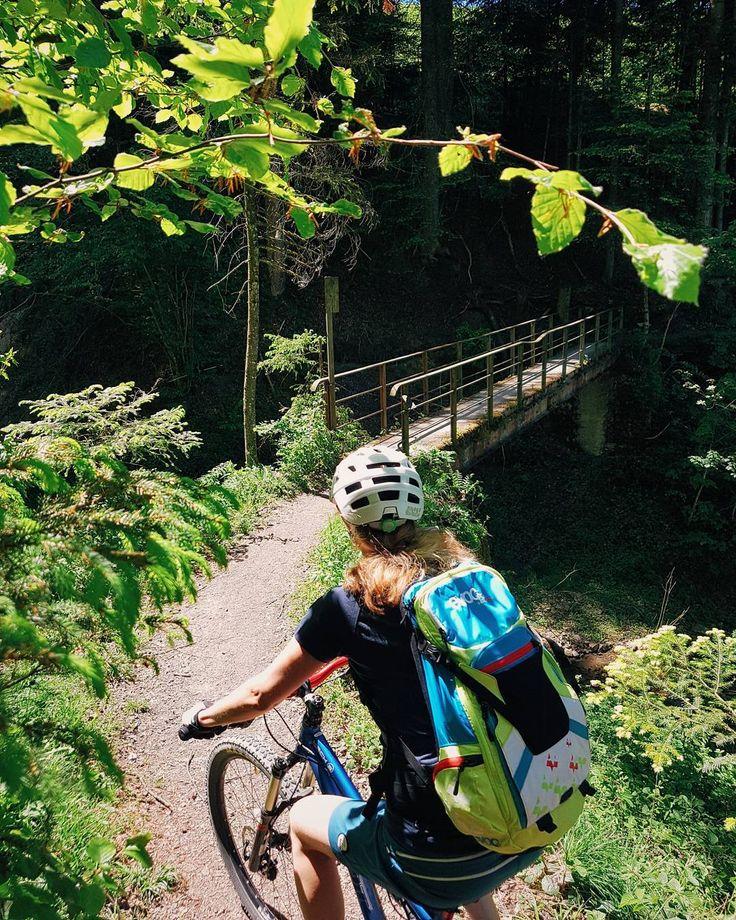 Happy cruising. Wunderschöni versteckti Trails zwüsche Teufen und St.Gallen.  #MTBswitzerland #MTBappenzell #stgallen #teufen