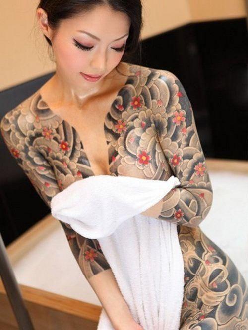 Tattoo girl magazine japan