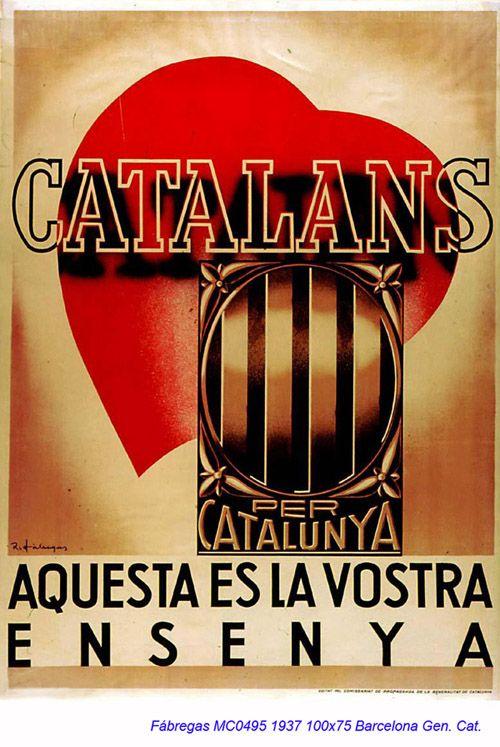 Spain - 1937. - GC - poster - autor: Ricard Fabregas