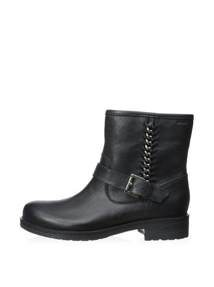 Geox Women's New Virna Mid Moto Ankle Boot at MYHABIT