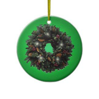 Twinkling Wreath Christmas Ornament