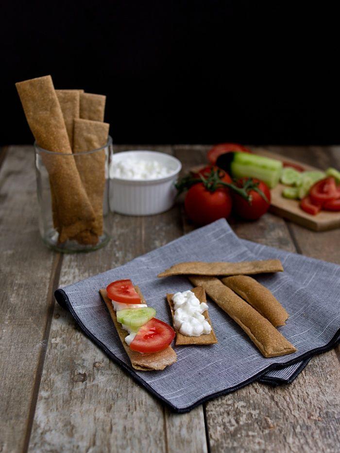Pradobroty:+Žitné+křupavé+kváskové+chlebíčky