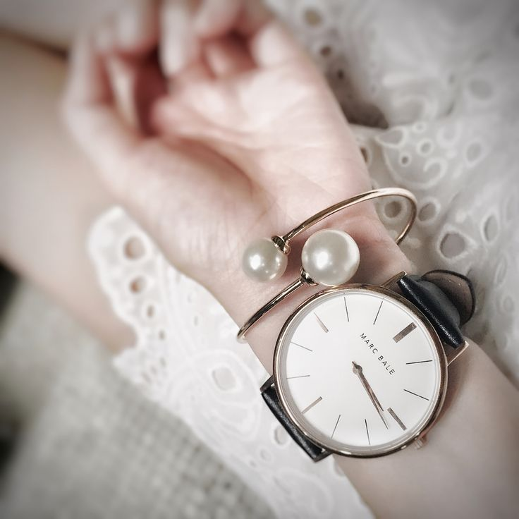 Regina Chow – Singapore Fashion, Beauty & Travel Blog. Marc Bale watch and Pearl Embrace Bangle from @thepeachbox