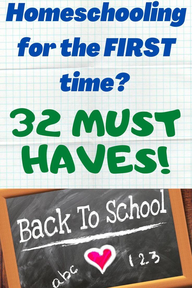 Homeschooling MUST HAVES! in 2020 Homeschool, Homeschool