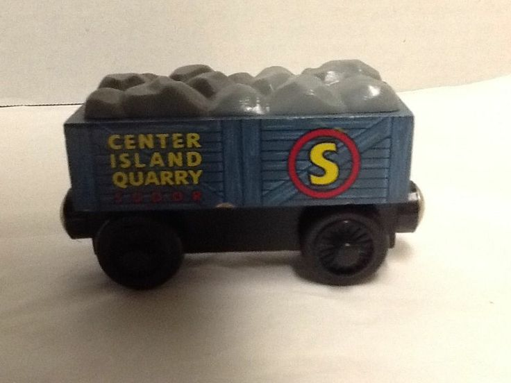 Center Island Quarry Sodor Boulder Car Thomas Compatible Wooden