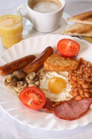 typical english breakfast. Think i will skip those beans though.