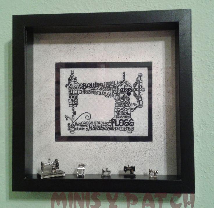 Minis y Patch: Cajon de imprenta: un homenaje a las labores