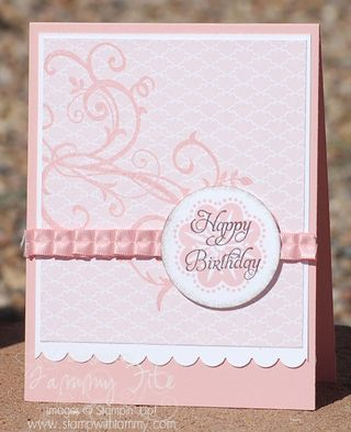 Stampin' Up! SU, by Tammy Fite, Stamp with TammyStampin Up Baroque Motif, Cards Ideas, Happy Birthday, Saturday Sketches, Sketches Challenges, Birthday Cards, Flower Flourish, Baroque Motif Stampin Up, Stampin Up Cards