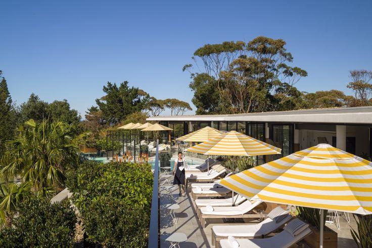 Interiors | alwill  #outdoor #umbrellas #foliage #view #deck
