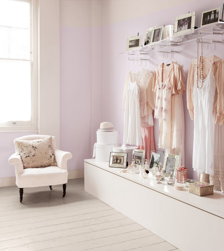 Airy, ethereal Gentle Blossom from the Dulux Light & Space range, is a ...