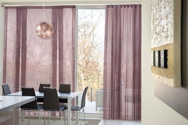 132 best images about salas muebles y decoraci n interior for Cortinas de tela modernas