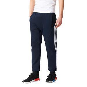 a bk2210 pantalones adidas nmd azulblanco hombre 2017 polycotton