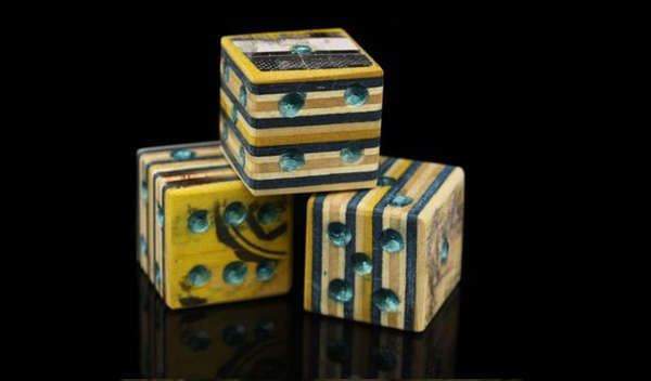 Upcycled Wooden Dice