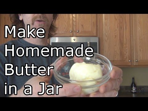 How To Make Organic Butter In Under 5 Minutes! - Healthy Holistic LivingHealthy Holistic Living