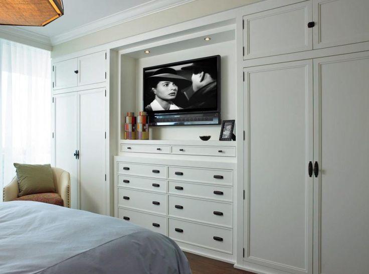 bedroom wall closet systems with doors | camere da letto con armadio a ponte - Casa decorazione idee adatto ...