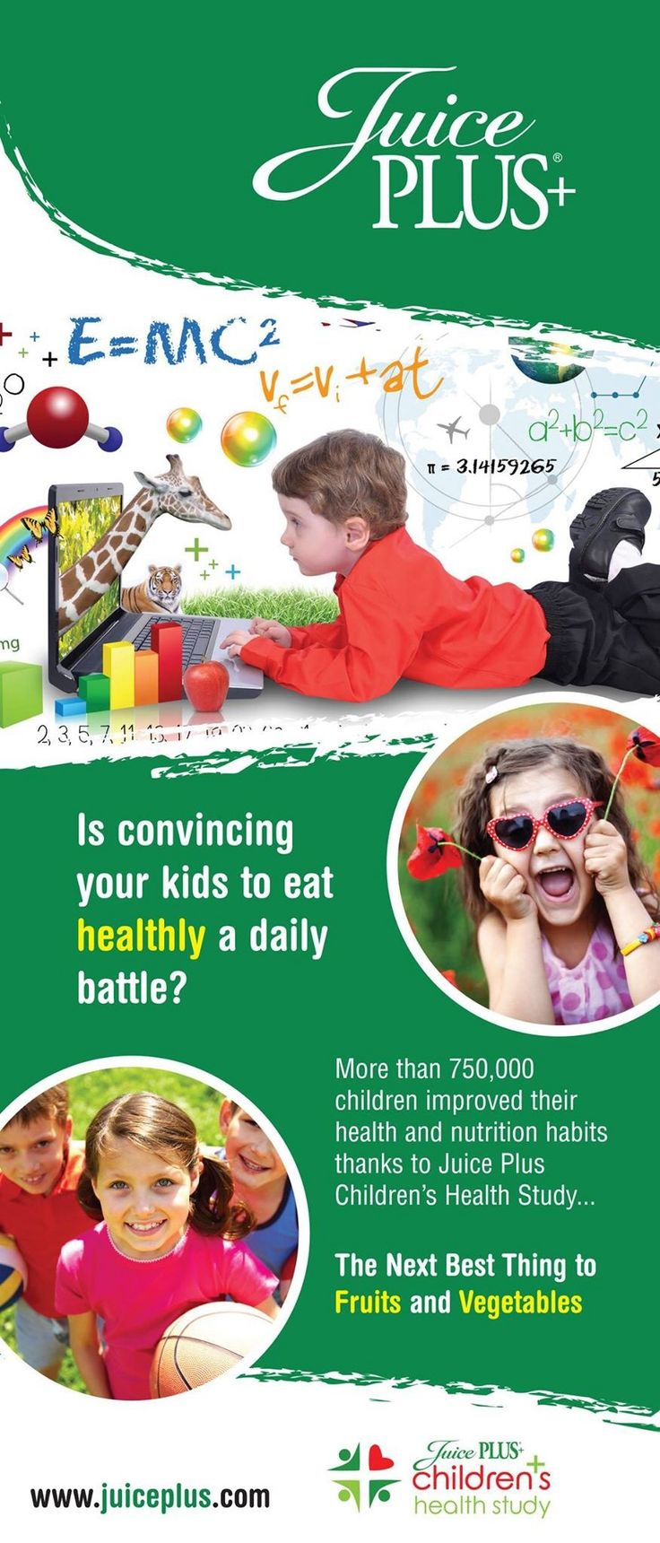 In our Children's Health Study Program, kids eat Juice Plus+ for FREE! Ask me how!  http://ao62505.juiceplus.com