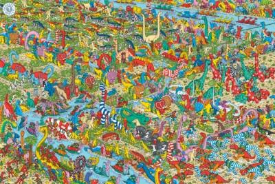 Wheres Wally – Jurassic Games
