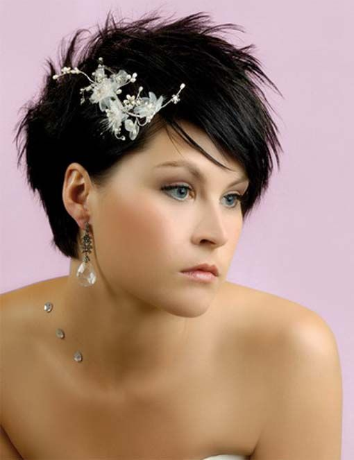 Hairstyles, Wedding Hairstyle Short Bride Hair: Wedding hairstyles for short hair