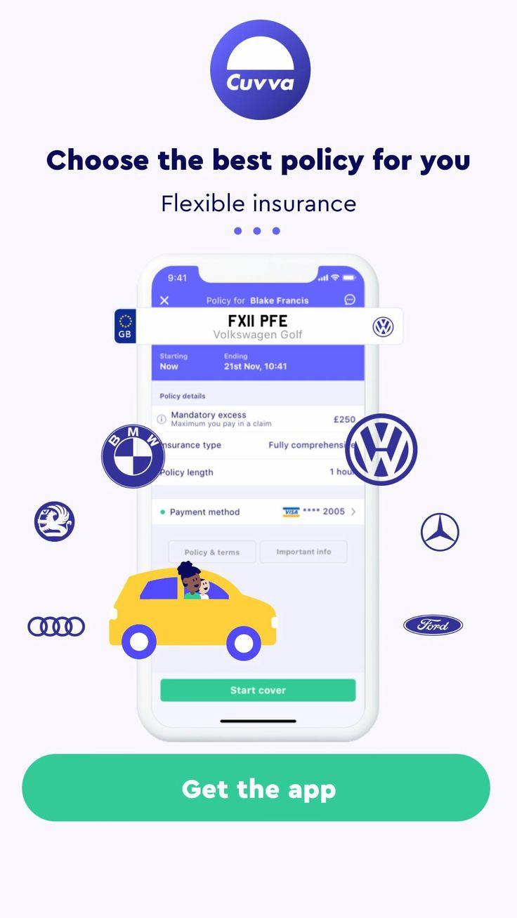 Fast flexible temporary car insurance video car