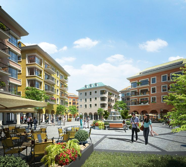 3D Architectural Markeing Rendering