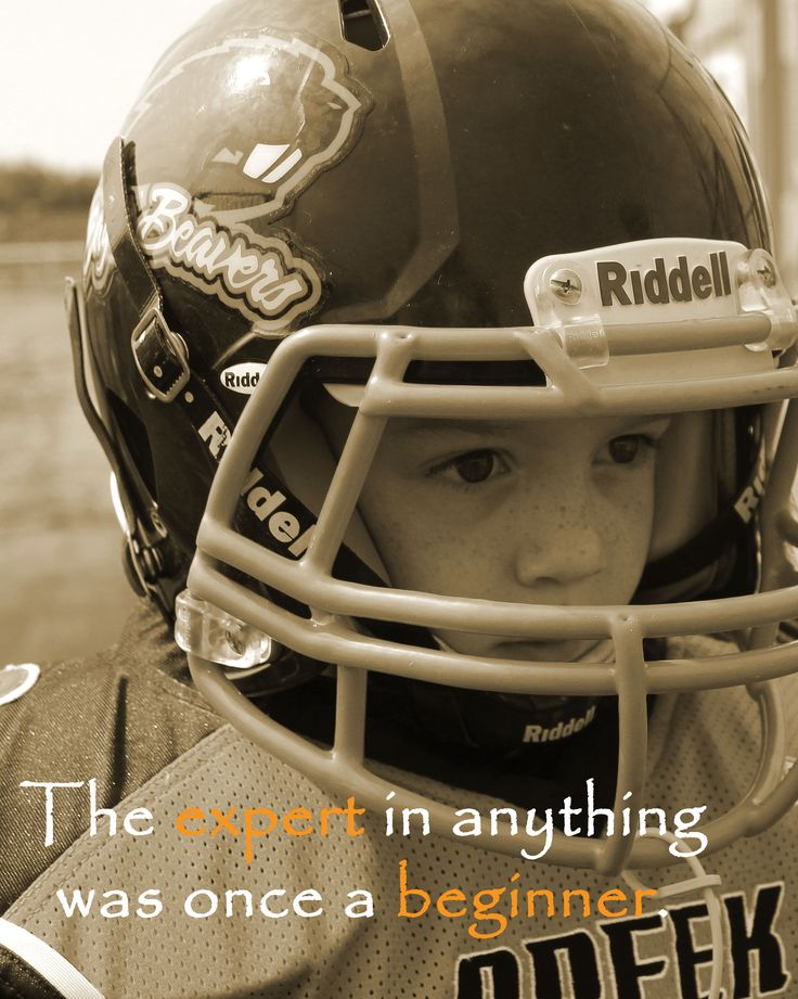 Youth Football Quote