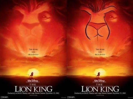 What a voluptuous nose you have, Mufasa.
