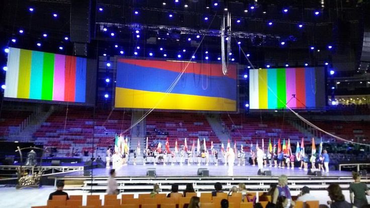 """IX Всемирные хоровые игры 2016 в Сочи #монтаж  IX «World Choir Games in Sochi"""""""