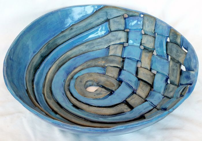 Ceramics made by students in the studio Gallery Item r-1517 - Rhoda Henning's Pottery Studio