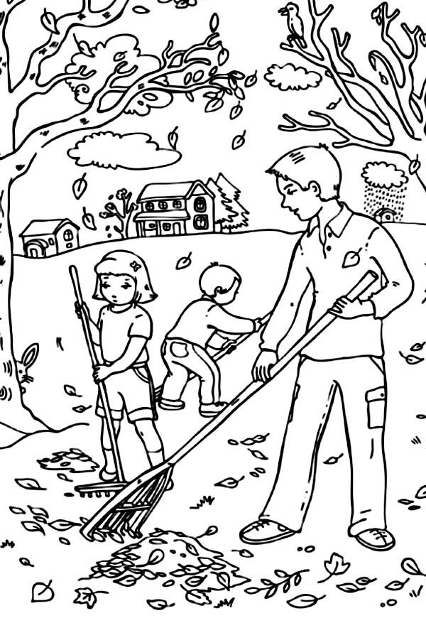 Free Printable Fall Coloring Pages for Kids | Adult coloring books ...