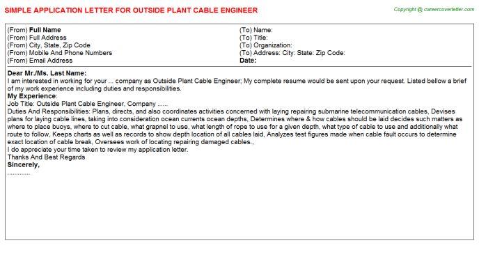 at t temporary outside plant technician job description