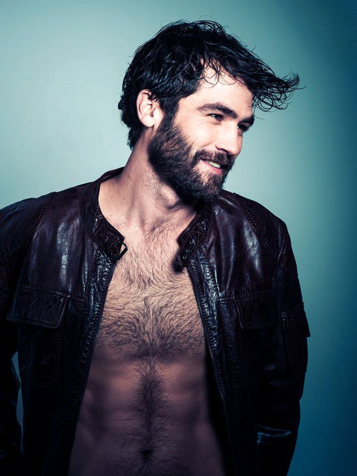 Beard and leather