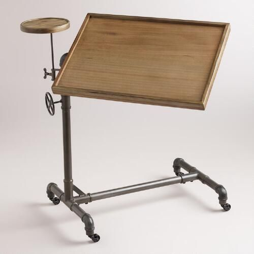 Adjustable Laptop Table | World Market                                                                                                                                                                                 More