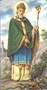 """St. Patrick - """"Apostle of Ireland"""" who converted countless souls to Christianity. Feast day - 3/17. Lord, help me to see the face of Christ in all I meet, to spread your love to them, and to know with confidence that in you I am never alone. Learn more about St. Patrick in """"A Book of Saints for Catholic Moms"""" at goo.gl/CDcp9 saints"""