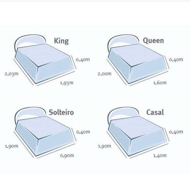 17 melhores ideias sobre medidas de cama queen no for Medidas de base para cama queen size