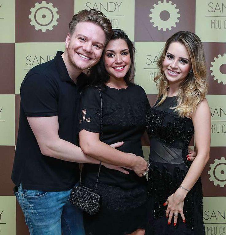 Thais Fersoza e Michel Teló curtem show de Sandy com participação de Tiago Iorc, veja como foi! - Estrelando